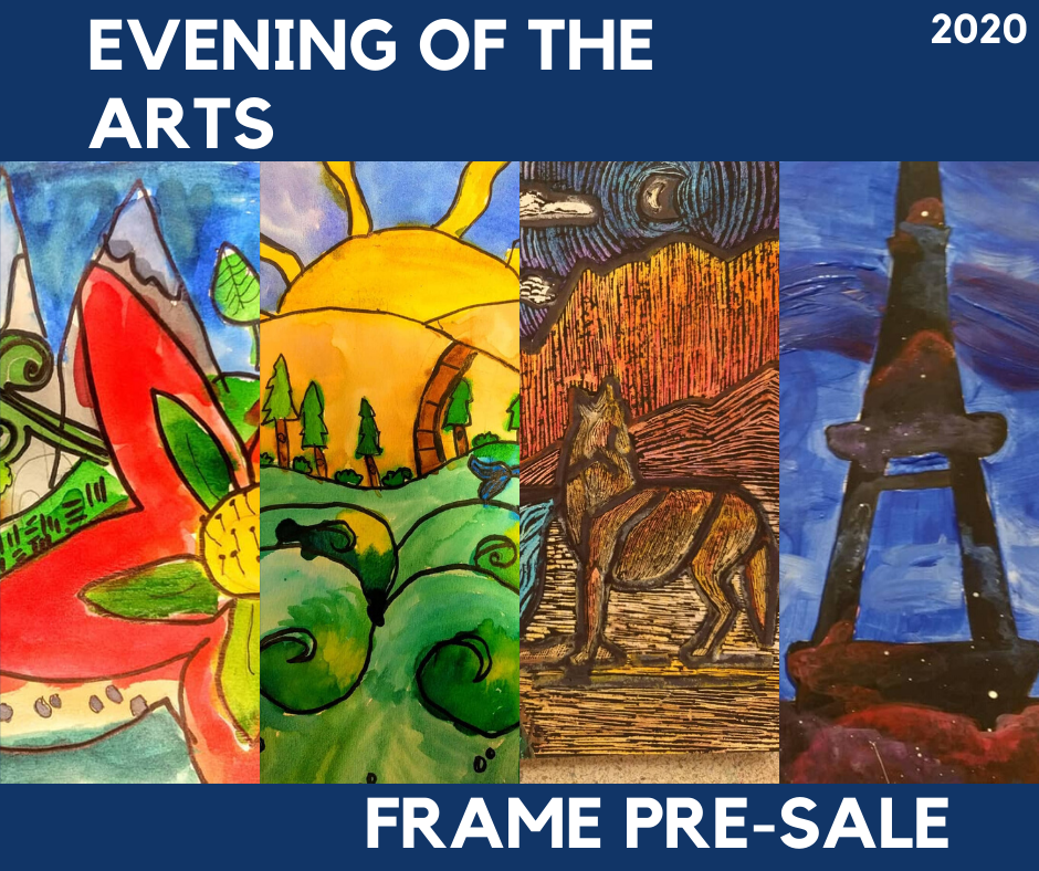 evening of the arts frame pre sale